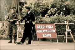 'Bletchley at War' (andrew_@oxford) Tags: bletchley park code breakers enigma wartime 1940s reenactors reenactment