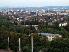 Dolní Vítkovice, view from the Bolt Tower - IMG_0155p (Milan Tvrdý) Tags: outdoorseminaroftheinstituteofmathematicscas instituteofmathematicscas mathematics ostrava theindustrialcomplexesatostrava vítkovice dolnívítkovice bolttower
