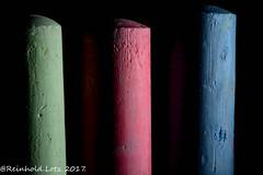 Chalk ...  HMM (Reinhold.Lotz [too busy]) Tags: installation macromondays sidelit craig alaska usa us