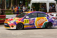Race at Toyota Fast Fun Fest at Phuket