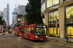 Go Ahead London SE223 YY64TXH route 100 London Wall (TfLbuses) Tags: tfl public transport for london red buses alexander dennis enviro 200 go ahead