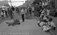 Martial Arts Demo (Joseph Brunjes) Tags: brunjes joseph martial arts elkin pumpkin festival 2017 nc zeiss ikon zm 28mm eastman double x 35mm rangefinder