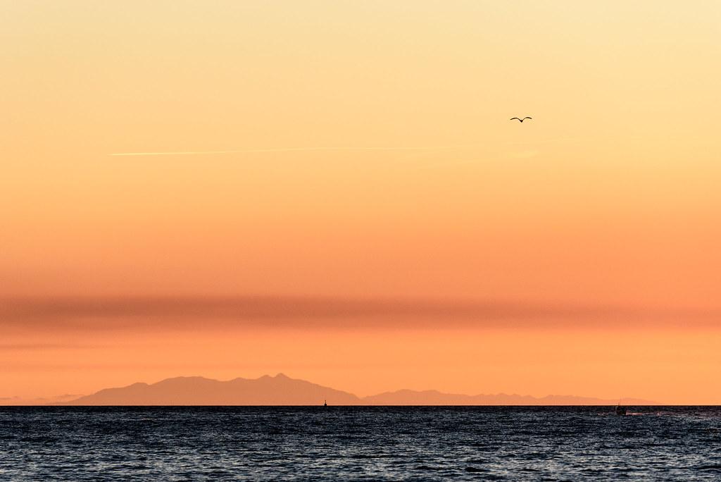 Sunset Minimalist Moment