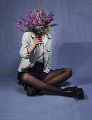 _TBS1915 (Thayna Bressan) Tags: blue rose pink bele lavanda banana fashion