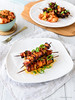 Kimchi Pork Belly Kabobs (84thand3rd) Tags: jenniferjenner 84thand3rd 84th3rd recipe summergrilling skewers summerskewers