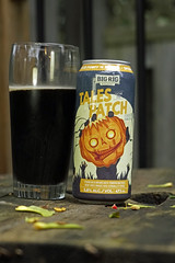 Tales from the Patch - This weekend's featured brew (Stickwork-Steve) Tags: beer canadianbeer beercan beerglass bigrigbrewery sony sonya7ii sonyfe24240mm pumpkin porter pumpkinporter