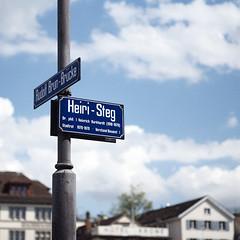 Heiri-Steg (Ayush Bhandari) Tags: heiristeg zürich switzerland oldcity leicam10 summilux 35mm europe blue lamppost oldtown rangefinder suisse svizzera suïssa