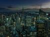 Manhattan Night (Seek Within) Tags: new york manhattan empirestatebuilding empire state buidling skyline nightphotography topoftherock royaltyfree cityscape