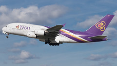 LHR - Thai Airbus 380-800 HS-TUC (Eyal Zarrad) Tags: a388 egll hstuc londonheathrow thai aircraft airport aviation airline airlines aeroplane avion eyal zarrad airplane spotting avgeek spotter airliner airliners dslr flughafen planespotting plane transportation transport photography aeropuerto 2017 canon 7d mk2 jet jetliner lhr uk england london heathrow stanwell