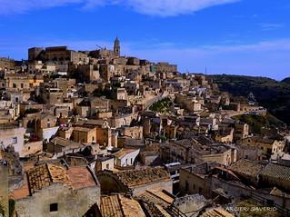 Matera Pz Italy la città dei sassi