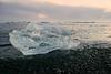 Diamond on Jokursarlon (Etardo64) Tags: ultron50mmf18 iceland jokursarlon ice water sunset sea vintage ultron zeiss landscape nature ghiaccio islanda mare