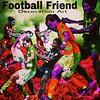 Soccer Friend  Decoration Art  サッカーを楽しむ友達とプレー中を、絵画風に編集加工しました。 (nodasanta) Tags: instagramapp square squareformat iphoneography uploaded:by=instagram mayfair