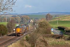Not So Easy Jet (Richie B.) Tags: 3s77 rhtt rail head treatment train drs direct services english electric british class 37 37602 37609 upper denton northumberland