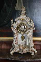 Clock (Can Pac Swire) Tags: hatfield house manor stately home hertfordshire england english great britain british uk unitedkingdom building jacobean architecture al9 interior inside 17th c 1600s 2016aimg1729 fine art arts clock antique china porcelain antiques