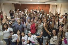 Reunión con líderes en Barranquilla