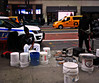 Bucket Drummers in Midtown NYC (Robert S. Photography) Tags: street music drumming bucket performers buckets sticks city newyork manhattan taxis macys people signs subway sony color dscwx150 iso200 october 2017