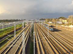 Warszawa Okęcie (transport131) Tags: infrastructure infrastruktura warszawa okęcie station stacja