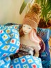 Pink (tarengil) Tags: abjd bjd asian doll dollmore zaolluv zaoll luv pink hat couch