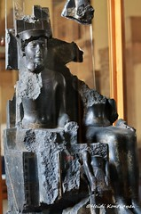 Amun, Mut and Seti I (konde) Tags: setii mut amun goddess statue ancient egypt 19thdynasty newkingdom karnak granodiorite treasure