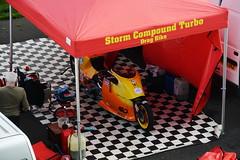 Straightliners_7582 (Fast an' Bulbous) Tags: bike motorcycle turbo funnybike moto outdoor nikon dragbike drag race strip track pits compoundturbo santapod
