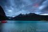 Lake Louise (Rolandito.) Tags: north america canada kanada alberta rocky mountains lake louise morning dawn clouds