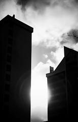 Abstract Light & Shadow (anubis131) Tags: thüringen treffhoteloberhof oberhof architecture architektur abstract sunlight towers türme gebäude buildings lichtschatten lightshadow germany freudenbergerpiller heike iphone7plus anubis1301