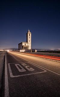 Iglesia de las Salinas de Cabo de Gata - Almería (Spain)