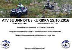 "Atv suunnistus Kurikka 15_10_2016 mainos1 • <a style=""font-size:0.8em;"" href=""http://www.flickr.com/photos/156642964@N05/38087152561/"" target=""_blank"">View on Flickr</a>"