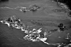 Giants Graveyard (romamar76) Tags: aerial flying above cessna airplane coast washington pacific ocean