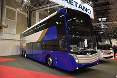 Translink Goldline - Caetano Invictus Tourist Bus - Ungeristered (Transport Photos UK) Tags: adam nicholson transport photos uk bus coach 2017 birmingham nec nikon d5500 caetano adamnicholson transportphotosuk adamnicholsontransport
