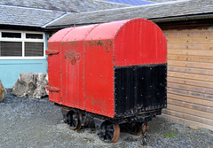 Gunpowder Wagon (R~P~M) Tags: train railway wales cymru uk unitedkingdom greatbritain wagon slate gunpowder gwr narrowgauge llechwedd blaenauffestiniog