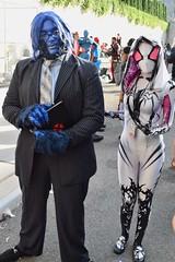 DSC_0733 (Randsom) Tags: newyorkcomiccon 2017 october7 nycc comic convention costume nyc javitscenter marvel superhero marveluniverse avengers xmen hero mutant beast spidergwen cosplay hankmccoy