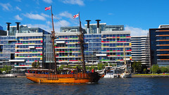 Enterprize (Ross Major) Tags: enterprize john pascoe fawkner schooner van diemens land melbourne victoria tall ship boat water city