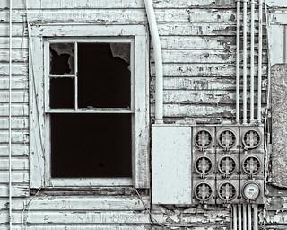 Abandoned House Wall 5790 D