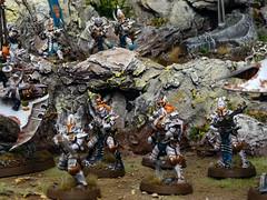 Armies on Parade 2016 - Kabal of the Pallid Sun (Uruk's Customs) Tags: games workshop warhammer wh40k drukhari dark eldar cabal wych cult armies parade aop board diorama