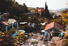 The river (Leo Hidalgo (@yompyz)) Tags: chefchauen marruecos المغرب almaġrib morocco blue village street landscape river
