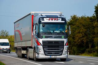 Volvo FH420 IV Globetrotter - Juvi Transport (LV)
