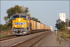UP 3054 (Justin Hardecopf) Tags: up unionpacific 3054 emd sd70ah sd70acet4 t4 coal richland nebraska railroad train