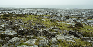 The surreal landscape of The Burren.