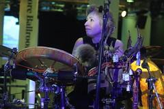 Suunta (2017) 07 (KM's Live Music shots) Tags: worldmusic finland traditionalfinnishmusic suunta drumkit drums nordicmatters fridaytonic southbankcentre