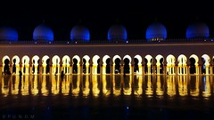 Sheikh Zayed grand mosque, Abu Dhabi (maksudulpunom) Tags: dubai abudhabi mosque beauty islam samsunge7 night unitedarabemirates arab