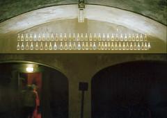 Reims: G.H. Mumm (McFarlaneImaging) Tags: 2015 35mm 400 a1 asa400 analog bottles canon cellar champagne europe eurotrip fd film france fromage ghmumm iso400 kodak mci portra region reims slr tour travel underground vacation mcfarlaneimagingcom