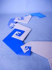 Naruto no Uzushio (Toshikazu Kawasaki) (ayako kobayashi) Tags: origami toshikazukawasaki uzu whirlpool