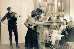 Mina Legnered and Frederico Gonzalez, The art of tango, Brussels, August 2017
