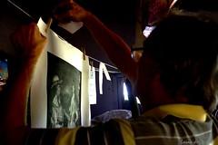Jean-Pierre PELLAT, ami Artiste graveur à la Seyne-sur-mer (Loran de Cevinne) Tags: pentax provence people personnage portrait personne graveur laseynesurmer var france artiste gravure épreuve ami friend atelier art tirage encrage