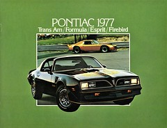 1977 Pontiac Firebird (Canada) (aldenjewell) Tags: 1977 pontiac firebird trans am formula esprit canada brochure