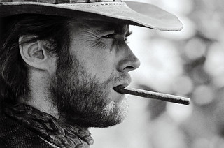 Clint Eastwood, Durango, Mexico, 1969 by Lawrence Schiller