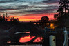 Awaiting Dawn (johnscratchley) Tags: sunrise dawn landscape colours bridges gorgepark hdr