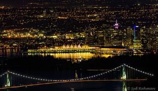 Lions Gate Bridge & Vancouver