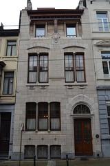 Autrique-huis, Schaarbeek (Erf-goed.be) Tags: autriquehuis maisonautrique schaarbeek brussel archeonet geotagged geo:lon=4373 geo:lat=508633